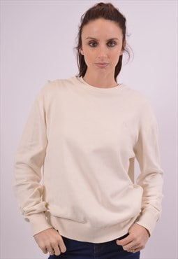 Vintage Fila Jumper Sweater White