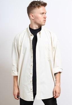 Vintage Corduroy Shirt Cream