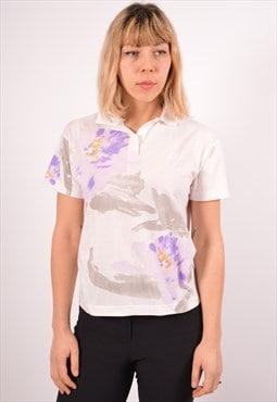 Vintage Sergio Tacchini Polo Shirt White