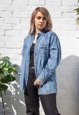 Vintage Marlboro Denim Shirt