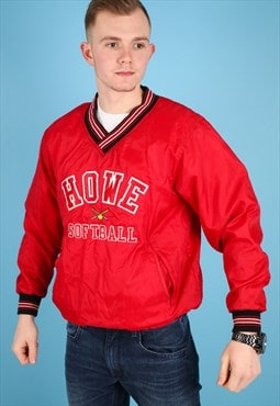 Vintage Shell Jacket in Red NJ483