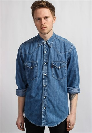 VINTAGE LEVIS DENIM SHIRT