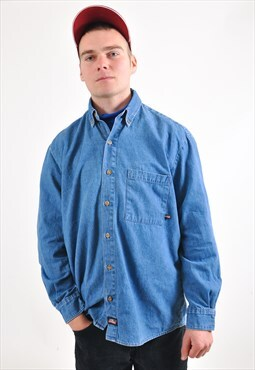 Vintage 90's DICKIES denim shirt