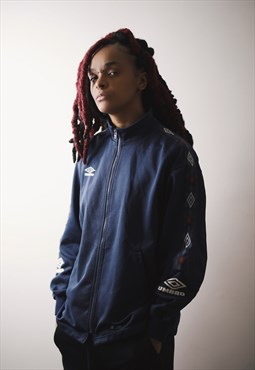 UMBRO Vintage Tracksuit sports  Top  / zip up