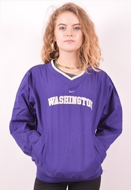 Nike Womens Vintage Washington Pullover Jacket Small 90's