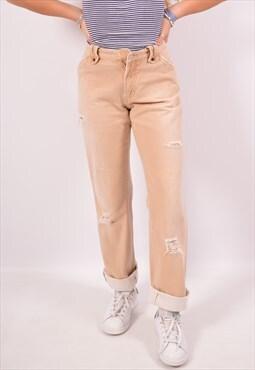 Vintage Dolce & Gabbana Jeans Straight Beige