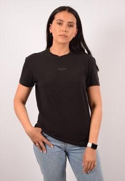 Vintage Calvin Klein T-Shirt Top Black