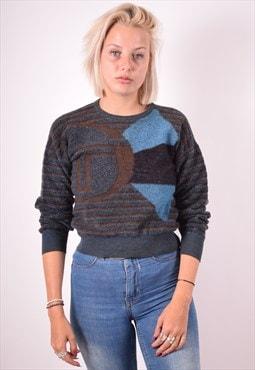 Sergio Tacchini Womens Vintage Jumper Sweater Small 90s