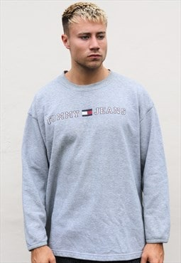Grey Tommy Hilfiger Sweatshirt