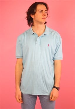 Blue Ralph Lauren Vintage Polo T shirt