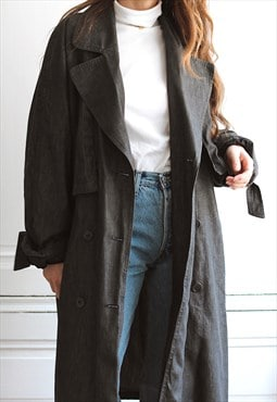 90's vintage Synonyme de Georges Rech trench coat