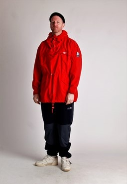 80s Helly Hansen cotton ski smock jacket