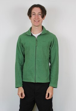 Vintage Patagonia Synchilla Fleece in Green with Embroidery