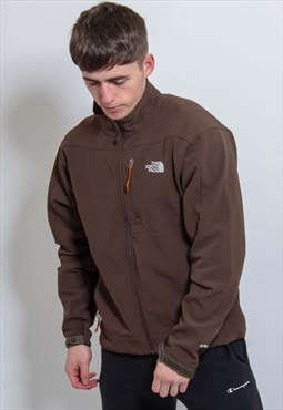 Vintage The North Face Coat in Brown Large