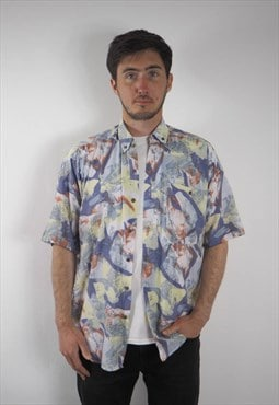 Vintage Abstract Pastel Shirt