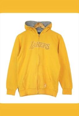 Vintage 90's Yellow Champion 'LA Lakers' NBA Hoodie