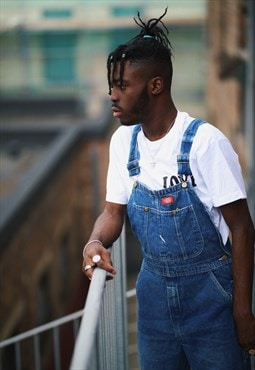 Vintage Dickies Long Denim Dungarees / Overalls