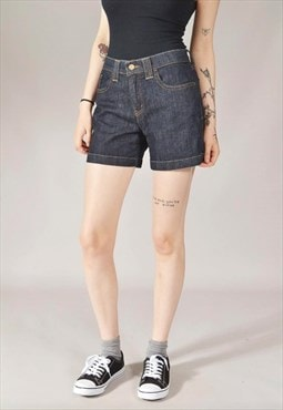 Vintage Levi's 515 Denim Shorts Dark Blue