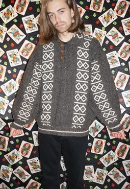 Vintage 70's South American Jumper