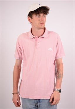 Vintage Kappa Polo Shirt Pink
