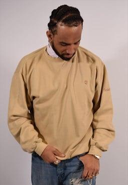 Vintage Timberland Sweatshirt Jumper Beige
