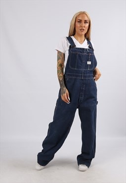 Vintage USA BIG MAC Denim Dungarees Wide Leg 12 M (51R)