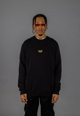 Little Lotus Sweatshirt - Black