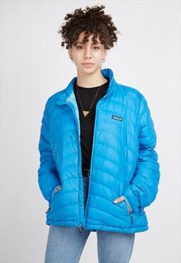 Vintage Blue Patagonia Puffer Jacket