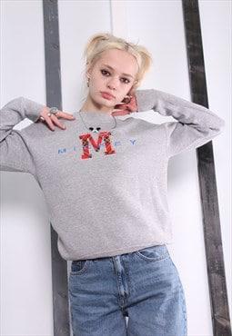 Vintage 90s RARE Disney Mickey Mouse Sweatshirt / Sweater