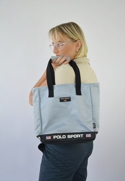 Vintage Ralph Lauren Polo Sport Shoulder Handle Bag