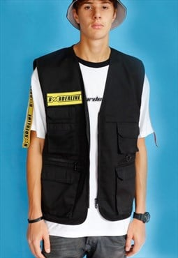 Utility Yellow Patch Gilet Vest