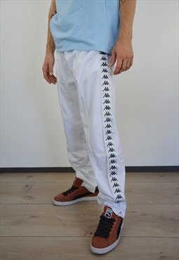 Vintage Kappa Sport Joggers Bottoms Pant Allover