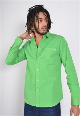 Vintage DKNY Long Sleeve Shirt Green