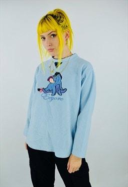 Vintage Disney Embroidered Sweatshirt