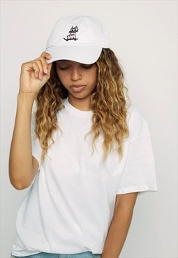 Women's Kitty Skate White Cap