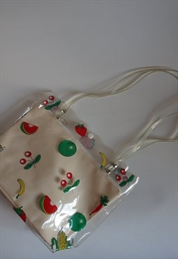 Vintage Transparent Fruity Bag