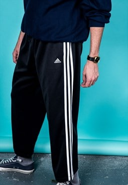 Vintage Adidas Sweat Pants in Black