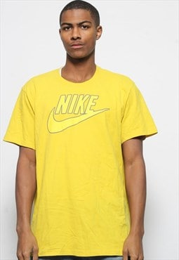 Vintage Nike Logo T-Shirt Yellow