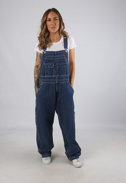 Vintage Denim Dungarees BICH REWORKED UK L 14 (9AU)