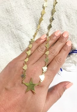 1990's Gold Star Choker