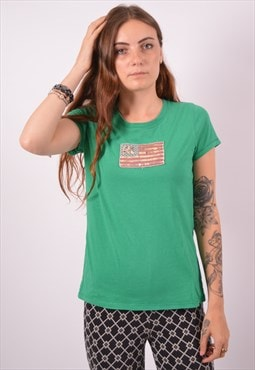 Vintage Polo Ralph Lauren T-Shirt Top Green