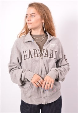 Vintage Champion Harward Tracksuit Top Jacket Grey