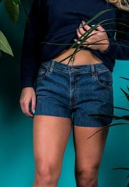 Vintage Levi's Denim Shorts in Blue