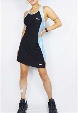 Vintage 90s 00s Fila Tennis Dress / y2k / Blue