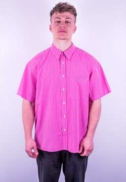 Vintage Lacoste Check Shirt in Pink