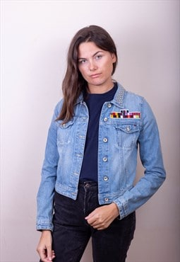 Tommy Hilfiger Patch Denim Jacket