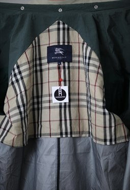 RARE Vintage BURBERRY Coat Jacket