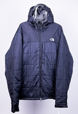 Vintage The North Face Puffer Jacket Navy Blue XXL