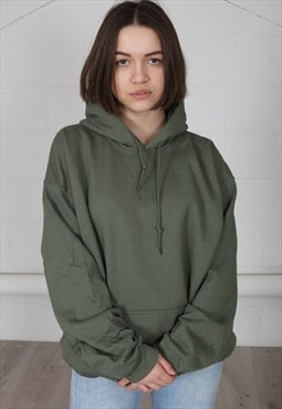 Cosmic Saint Military Green Unisex Hoodie