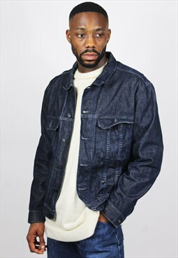 Vintage / 80's / Denim / Blue Jacket